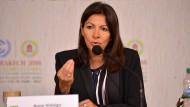 Anne Hidalgo bei der UN-Klimaschutzkonferenz in Marrakesch