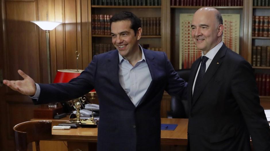 Griechenlands Schuldenkrise: Die neue Staatsanleihe ist begehrt