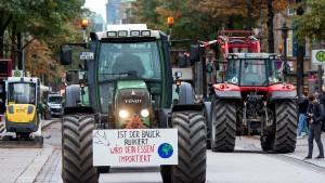 Bauern in Aufruhr