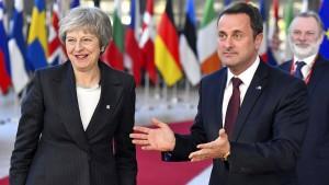 Wie Brüssel der britischen Premierministerin helfen will