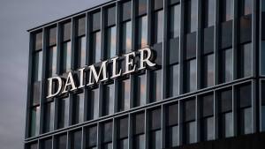 Wie die Krise Daimler hilft