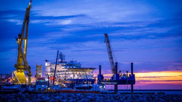 Bau von Nord Stream 2 fortgesetzt
