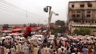 Bei dem Fabrikbrand im pakistanischen Karachi starben im Jahr 2012 mehr als 250 Menschen.