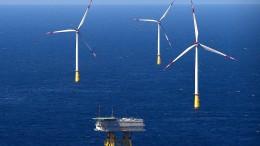 160 neue Windräder auf dem Meer