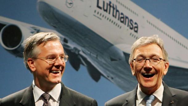Lufthansa bereitet schnellen Chefwechsel vor
