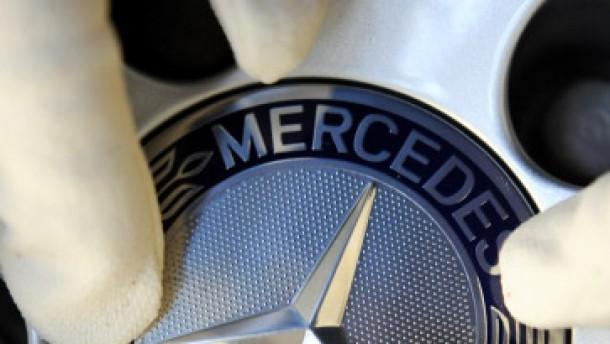 Daimler ist wieder auf der Spur