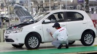 Toyota stoppt Produktion in Japan