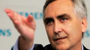 Löscher strafft Struktur und Führung von Siemens