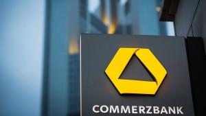 Commerzbank leidet unter Niedrigzinsen