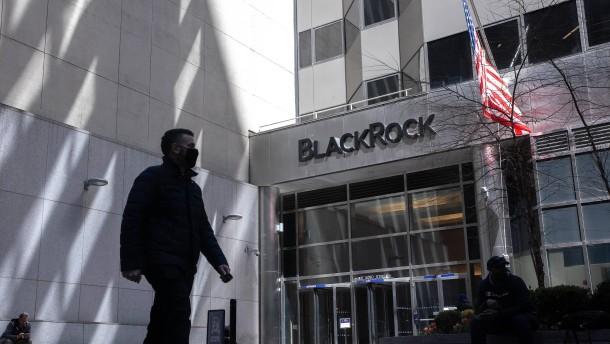 Blackrock kommt auf mehr als  9 Billionen Dollar