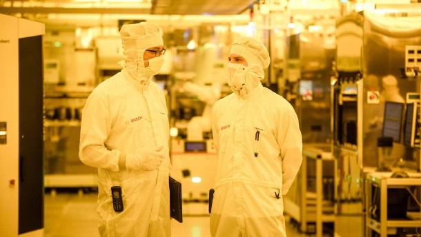 Bosch baut Halbleiterfabrik in Dresden für eine Milliarde Euro