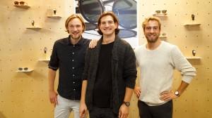 Adrian Roepe, Moritz Blees und Matthias Köppe