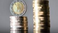 Niedrigste Zinsausgaben seit der Wiedervereinigung