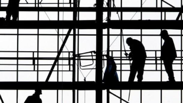 Mindestlohn am Bau steht auf der Kippe