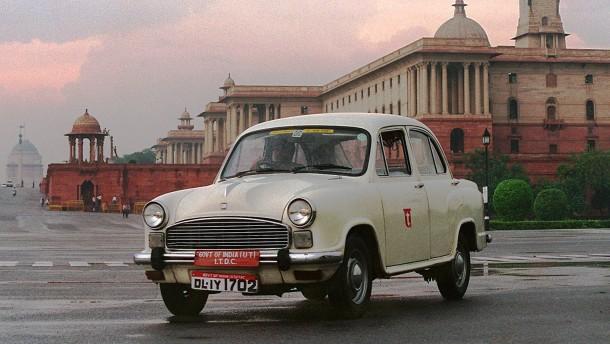 Das Ende einer indischen Autolegende