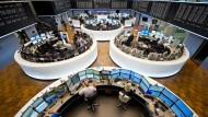 Parkettwechsel? Die Deutsche Börse AG plant die Fusion mit der London Stock Exchange. (Symboldbild)