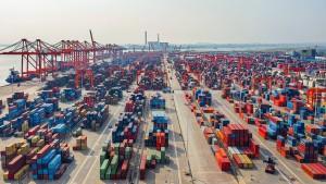 Chinas Exporte machen Sprung um 60 Prozent