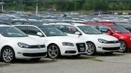 Zähes Geschäft: Nach der Androhung von Fahrverboten haben Händler zunehmend Schwierigkeiten beim Verkauf von Rückläufern.