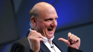 Steve Ballmer hält 333 Millionen Microsoft-Aktien