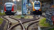 Ab Montag drohen neue Bahnstreiks