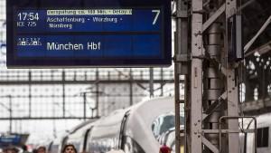 Fast ein Drittel aller Fernzüge sind zu spät