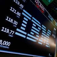 IBM an der New Yorker Börse