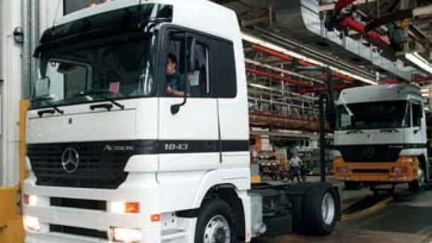 Jahreszahlen DaimlerChrysler - LKW-Produktion