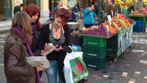 Erste Deflation in Griechenland seit 45 Jahren