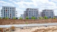 Begehrt: Neue Wohnungen, wie hier im Frankfurter Europaviertel