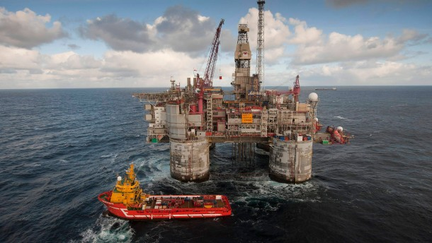 Statoil plant neue Öl-Plattform in der Nordsee