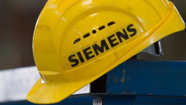Siemens nicht länger ausgeschlossen