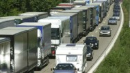 Angst vor Lkw-Staus auch am Wochenende