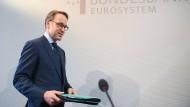 Aktuell ist Jens Weidmann Präsident der Deutschen Bundesbank.