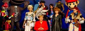 Die Raute unter Computerspielern: Erstmals eröffnet Kanzlerin Merkel die Gamescom in Köln.