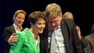 Frauke Petry und Jörg Meuthen auf dem Bundesparteitag der AfD.