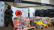 Kokain für 800 Millionen Euro in Hamburg gefunden