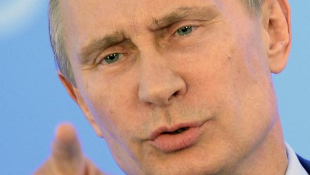 Putin ist der mächtigste Mensch der Welt