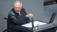 Schäuble verhandelt mit Ländern über Deutschland-Bonds