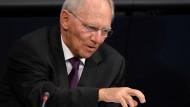 Schäuble verteidigt Pläne für Schuldentilgung