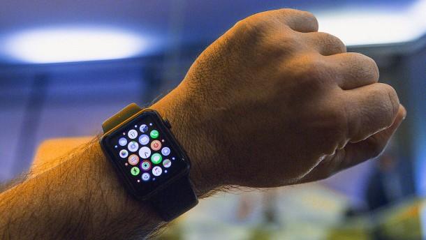 Apple verkauft viel weniger Uhren