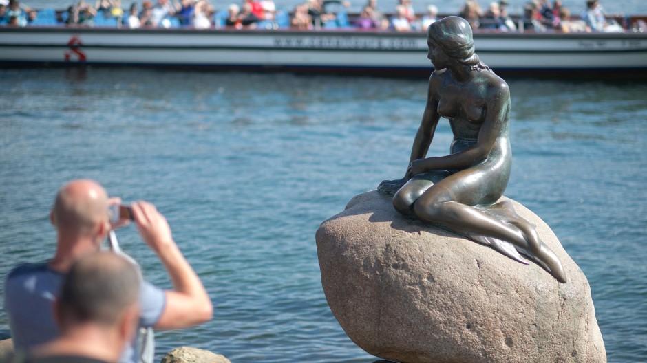 Kleine Meerjungfrau: Kopenhagen ist auch ein beliebtes Reiseziel