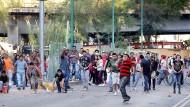 Unruhen in Mexiko-Stadt bei Protesten gegen die Erhöhung der Benzinpreise in dieser Woche.
