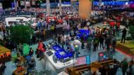 Am Sonntag endet die Internationale Automobil-Ausstellung.