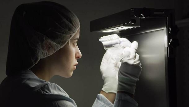 Impfstoff-Produktion auf Hochtouren
