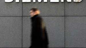 Siemens regelt die Kleinfeld-Nachfolge