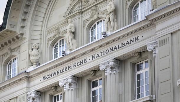 Schweizerische Nationalbank interveniert am Devisenmarkt