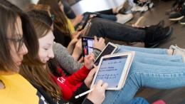 An vielen Schulen hakt es schon beim Internet-Zugang