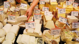 Käse gegen Autos