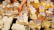 Auch in Japan begehrt. Käse aus Europa.