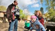 Viel Stress für junge Eltern